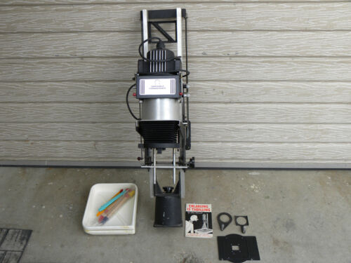 SIMMON OMEGA TYPE D II VARIABLE CONDENSER DARKROOM PHOTO ENLARGER w/ EXTRAS