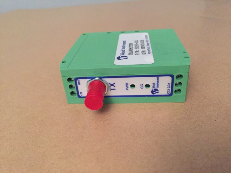 Weed Instrument Digital Data Link Fiber Optic Transmitter, ST, Multimode