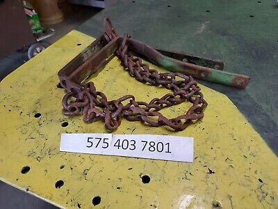 John Deere 71 Flex Rear Drag Chain X2 Leveling Chain B27399 N4474db Jd 71 Corn