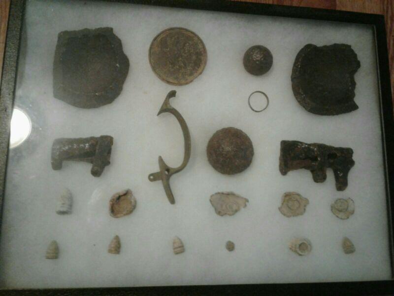 Civil War Relic Case Lot (Battle Of Resaca,GA)