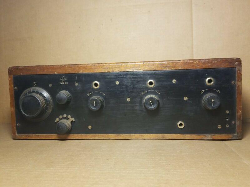Vintage Crosley  Precision Equipment Ace 3B Tube Radio Receiver