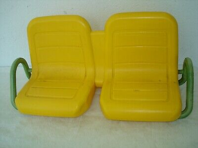 JOHN DEERE PEG PEREGO RIDE-ON GATOR 4X2 BATTERY OPERATED TOY FRONT SEAT ERTL VG!