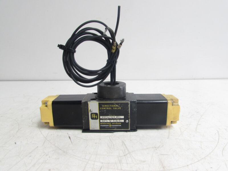 PARKER HANNIFIN 2MD01AC DIRECTIONAL CONTROL VALVE 115V **XLNT**