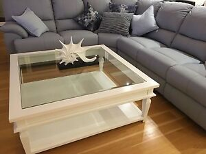 COFFEE TABLE WHITE HAMPTONS STYLE Palm Beach Gold Coast South Preview