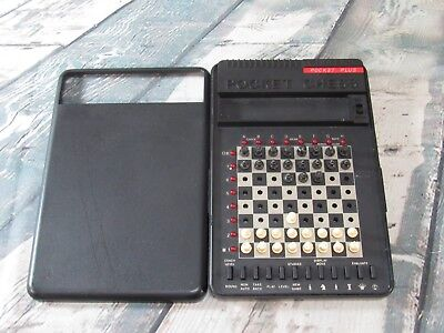 Saitek Kasparov Pocket Plus Trainer Chess Training Program Vintage Game