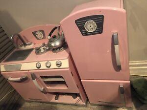 Little girls dream toy kitchen set