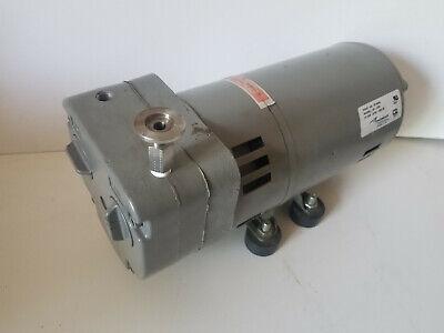 Used Thomas 13 Hp Vacuum Pump Oil-less 120230v Rotary Vane Qr-0050 291306s