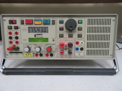 Manta MTS-1710 Protective Relay Test System - Parts/Repair - OQ40