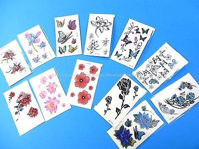 12 sheets wholesale Realistic Temporary Tattoos for Adults Temporary tattoos  - Wholesale Temporary Tattoos