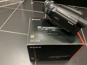 Sony AX700 4K - Urgent