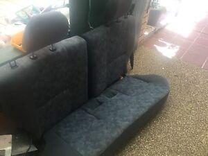 Back car seats of Pajero IO 2002 5 door Golden Beach Caloundra Area Preview
