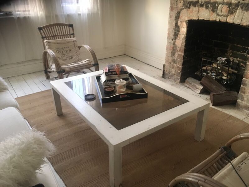 White Washed Coffee Table Coffee Tables Gumtree Australia Manly - Manly coffee table