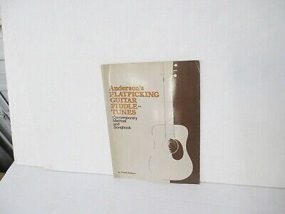 VTG 1991 Charles Anderson's Flatpicking Guitar Fiddle-Tunes Songbook