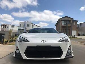 Supercharged Toyota 86GTS as new low km low profile but powerful