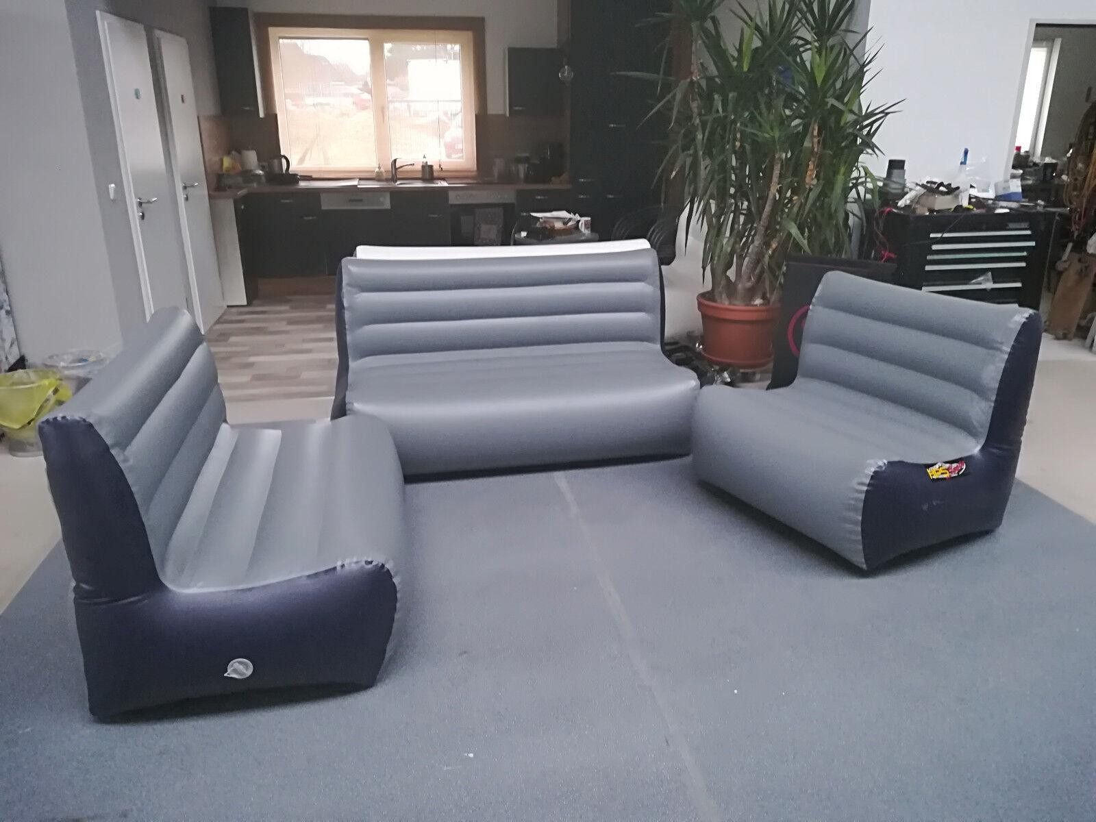 Aufblasbares Sofa in Schlauchboot Qualität Sessel 2er… |