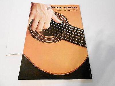 VINTAGE MUSICAL INSTRUMENT CATALOG #10144 -1970s SUZUKI GUITARS