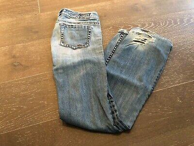 1921 WESTERN GLOVE WORKS DISTRESSED BOOT CUT LADIES JEANS - Ladies Western Jeans
