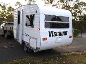 fully furbished and updated viscount 11 ft caravan MAKE AN OFFER! Caboolture South Caboolture Area Preview