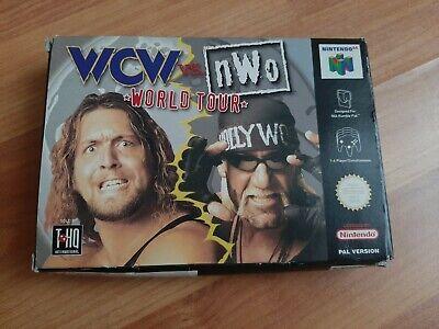NEAR MINT NINTENDO 64 N64 WCW VS. NWO WORLD TOUR CART VIDEO GAME PAL BOXED