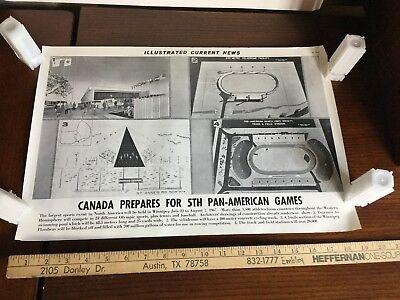 Illustrated Current News Photo - Canada Pan American Games 1967 Winnipeg Sports