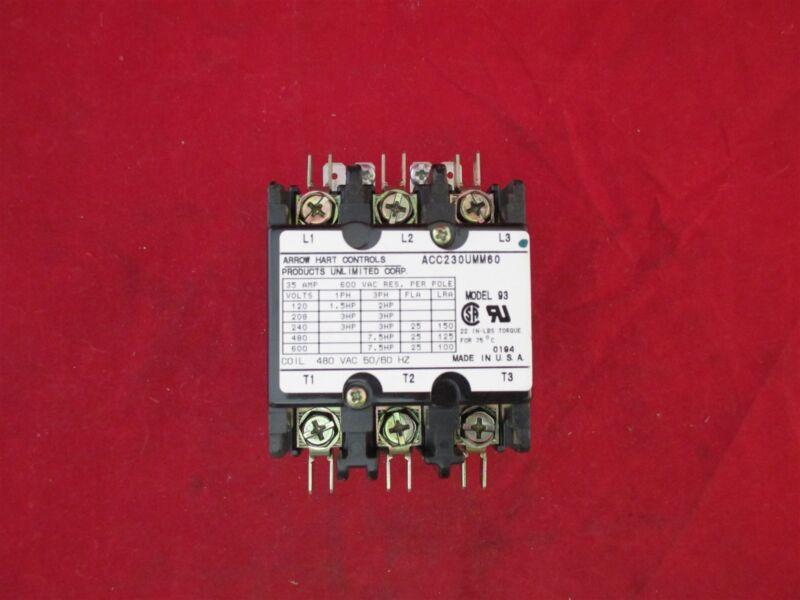 Arrow Hart  ACC230UMM60 Magnetic Contactor new