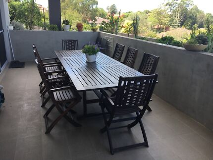 10 Chair Outdoor Setting