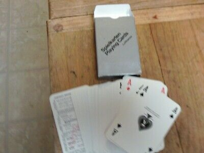 Vtg Lufthansa Airlines Spielkartens Deck of Playing Cards  New but not Sealed