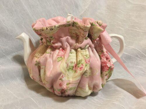 New Tea Pot Cozy- Pink Tea Party With Polka Dots