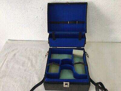 Alte Kameratasche Koffer für Spiegelreflexkamera und Objektive