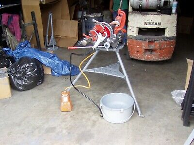 Ridgid 300 Power Drive Pipe Threading Machine W Crrge And Stnd Reconditioned