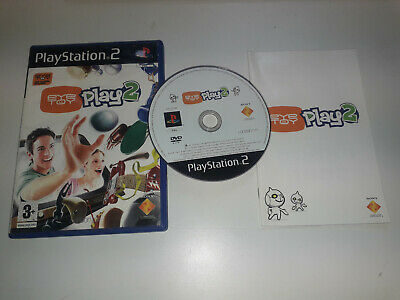 * Sony Playstation 2 Game * EYE TOY PLAY 2 * PS2