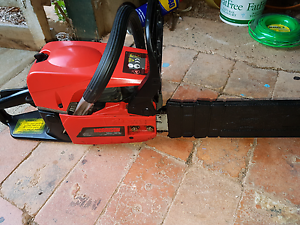 """Near NEW Morrison   CHAINSAW WITH 20"""" BAR AND CHAIN Cannon Hill Brisbane South East Preview"""