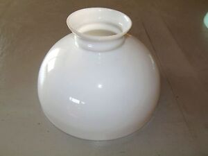 globe opaline soufflee blanche xixe pour lustre monte et baisse a petrole deco ebay