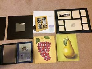 Assorted mirrors, picture frames and art