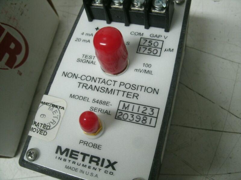 METRIX POSITION TRANSMITTER 5488E-561-M1123  INGERSOLL RAND 68144161 5488E-M1123