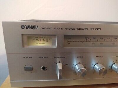 Vintage Yamaha CR-220 Natural Sound Stereo Receiver. Refurbished