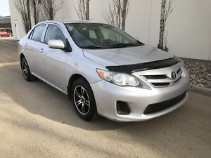 2011 Toyota Corolla, 102k, remote starter and winter tires!