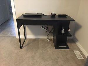 MOVING- Dark Brown Desk - Can Deliver