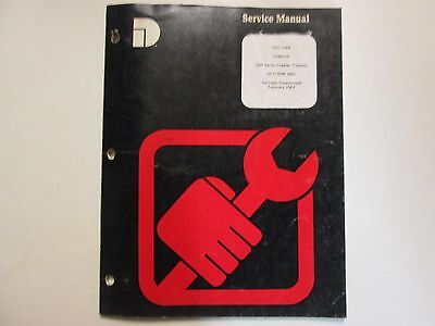1965 Dresser 500 Series Crawler Tractors Chassis Service Manual Gss-1364 Used