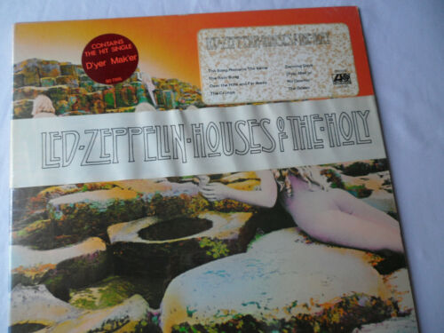LED ZEPPELIN Original__SEALED 1st Press__Houses of the Holy LP__SD-7255__EX+