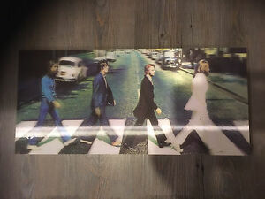Beatles Holographic Wall Art