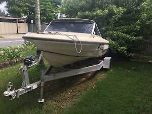 15ft Pride Boat with Trailer - Mermaid Waters Gold Coast City Preview