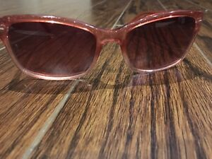 Sparkly pink coach sunglasses