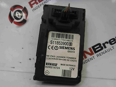 Renault Scenic 2003-2009 Ignition Key Card Reader 8200216724 S118539003E