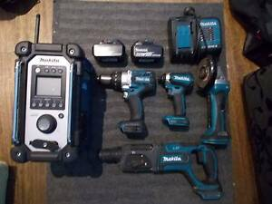 MAKITA 18V Li-ion 5 piece Brushless Combo Keilor Downs Brimbank Area Preview