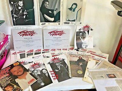 TRAVIS TRITT Country Music Singer Artist Fan Club Memorabilia Newsletters More