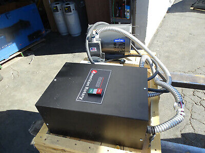 American Rotary Ar05-s 5hp 3ph Gentec Phase Converter Induction Generator