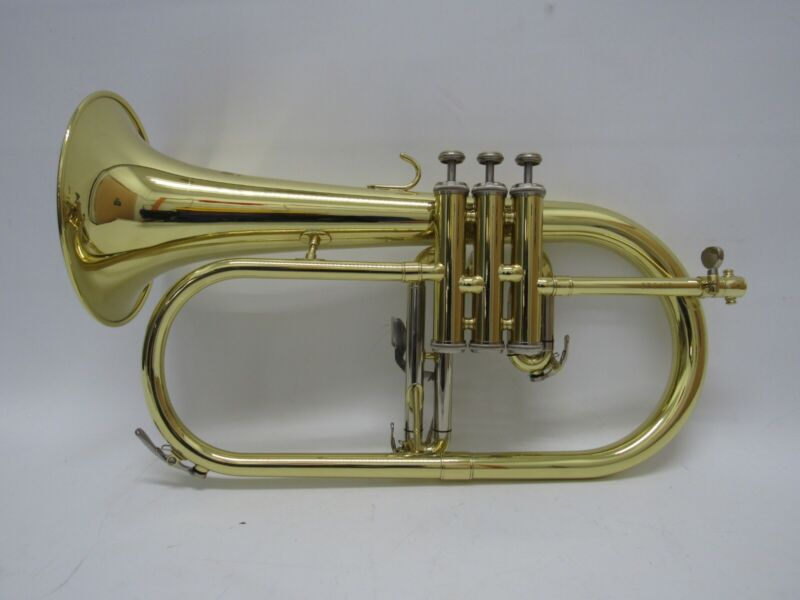 Eastman Bb Flugelhorn EFG412 Yellow Brass w/Deluxe HSC