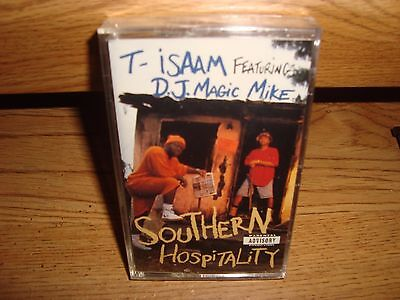 T-ISAAM  + SOUTHERN HOSPITALITY +  CASSETTE TAPE +NEW/SEALED+  RAP HIP HOP [PA]