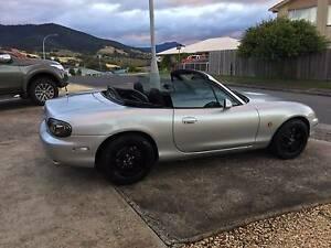 1999 Mazda MX-5 Convertible NB 5 Speed, Wheels, Exhaust, Intake Moonah Glenorchy Area Preview